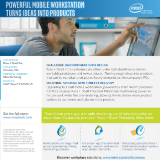 Ross + Doell Inc. and Intel Deliver Powerful Workplace Solutions