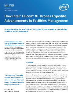 Intel® Drone Technology Expedites Advancements in Facilities Management
