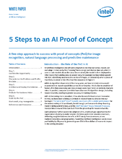 AI Proof of Concept in 5 Steps