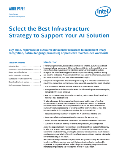 Intel's Guide to AI Infrastructure Strategy