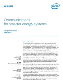 Communications for Smarter Energy Systems